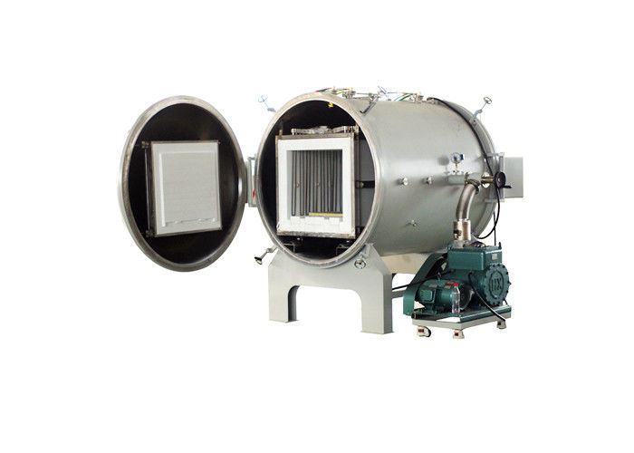 Non Pressure Horizontal Vacuum Furnace , Electric Heat Treatment Furnace For Si3N4 Powder